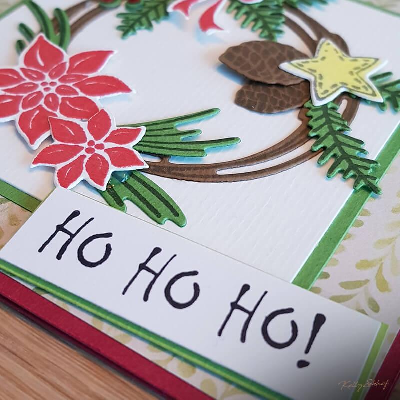 Kerstkaart-hohoho-kerstkrans