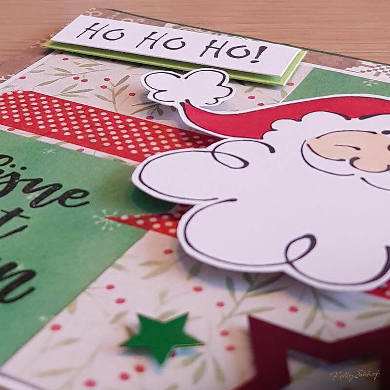 Kerstkaart-kerstman-hohoho