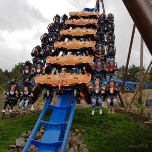 Toverland achtbaan Fenix Avalon