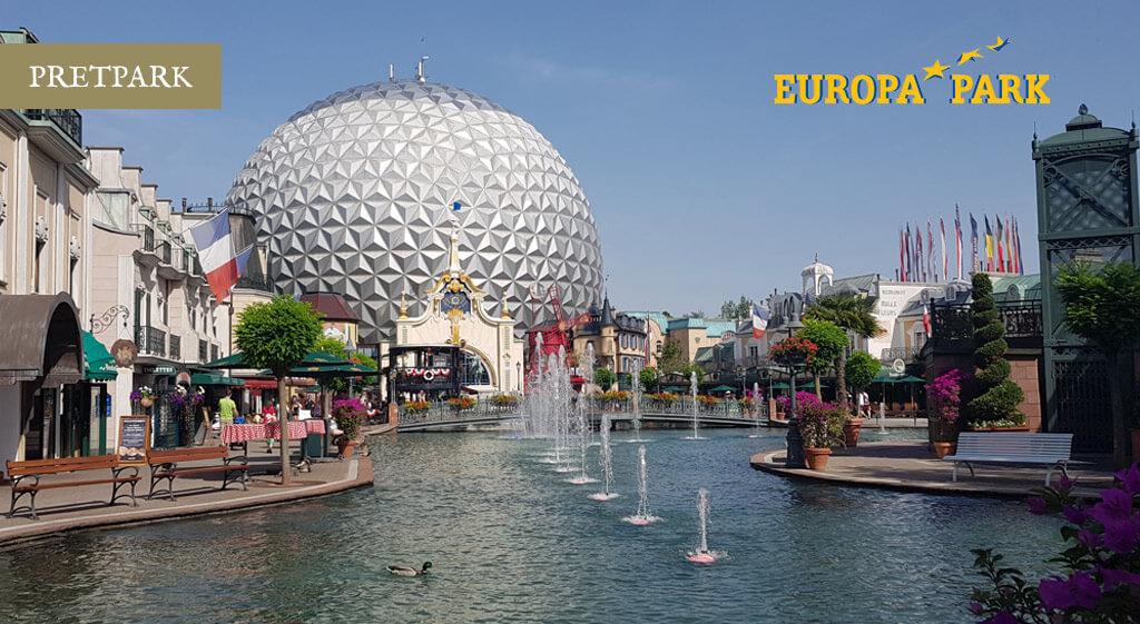 Vakantie Europapark Duitsland