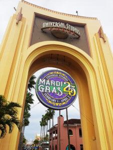 Mardi Gras in Universal Studio's Florida