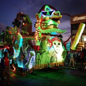 Parade Mardi Gras in Universal Studio's Florida