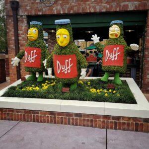 Duff Beer - The Simpsons