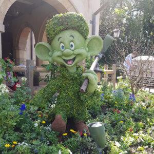 Epcot Flower and Garden Festival 2020 topieries