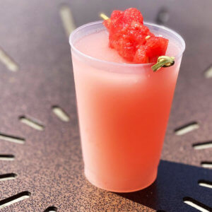 Watermelon Cucumber Slushy